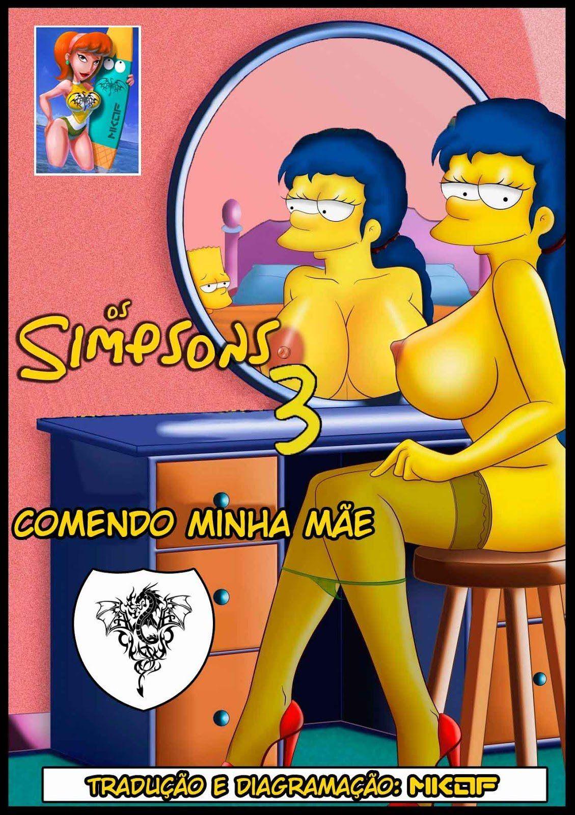 Incesto Mãe e Filho - Marge Simpson A Deliciosa
