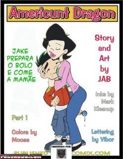 Jake Long Hentai – Um quadrinho de incesto com a mamãe
