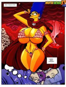 Mãe e Filho no HQ de Incesto – Os Simpsons