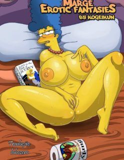 Os Simpsons Porno – As fantasias Eróticas da Marge – Quadrinho Porno