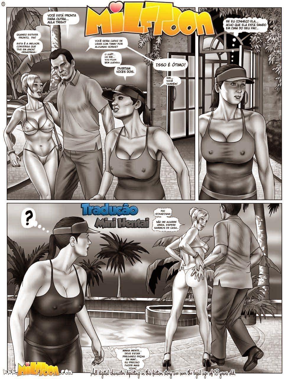 Hentai do Jogo GTA V de Incesto Mãe e Filho fazendo sexo