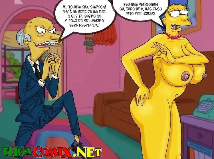 Marge e Bart – Os Simpsons Hentai