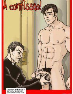No confessionário com o Padre