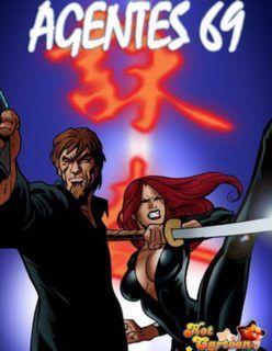 Agentes 69 parte 3 – Fodendo uma virgem safada