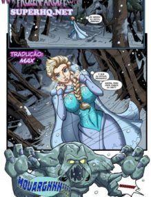 Frozen Parody Savior's Hard Dick