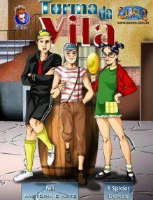 Chaves Hentai – A Turma da Vila – Completo