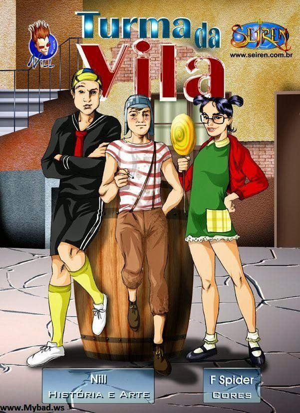 Chaves Hentai - A Turma da Vila - Completo