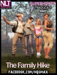 The Family Hike – Sexo em família na floresta