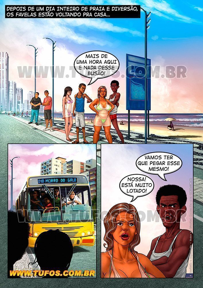 Tufos - Família Favela - Ônibus Lotado