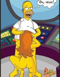A Nova secretária de Homer