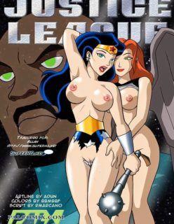 Liga da Justiça Hentai – Prazer para princesa Diana