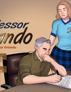 Contos Eróticos Animado – Professor Orlando e sua Aluna novinha