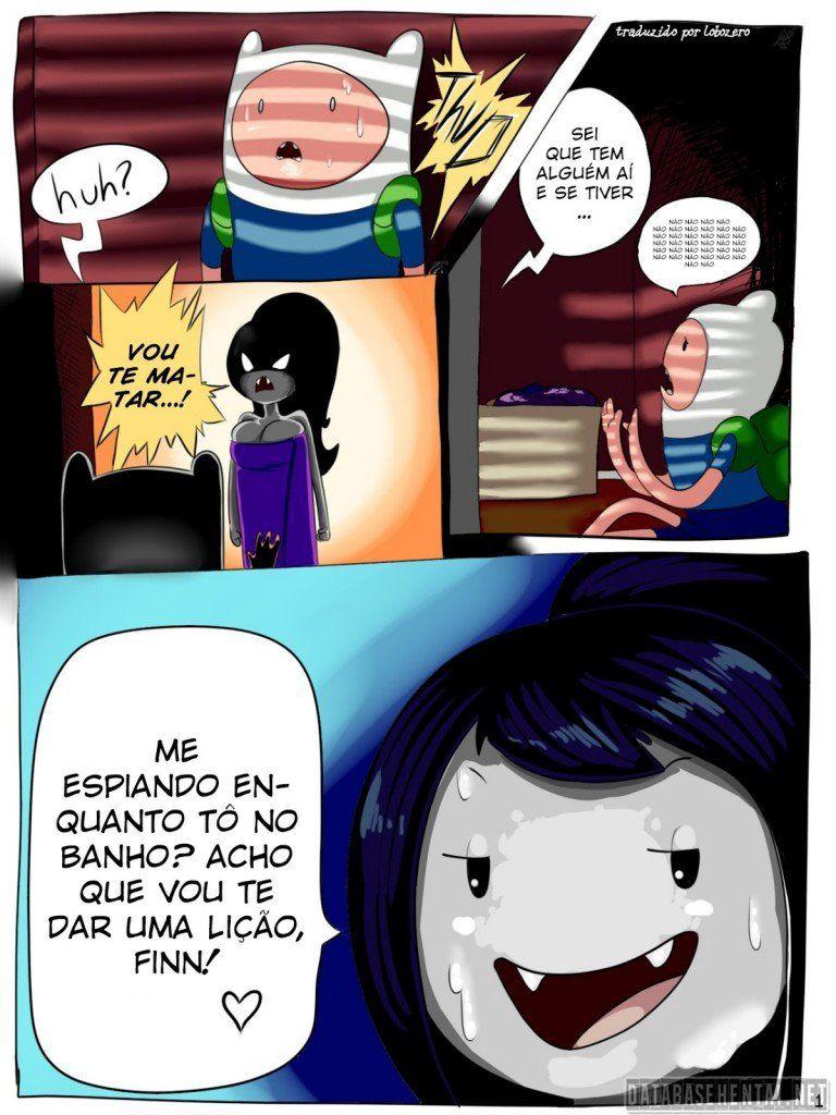 Hora de aventura Hentai - Marceline fodendo gostoso