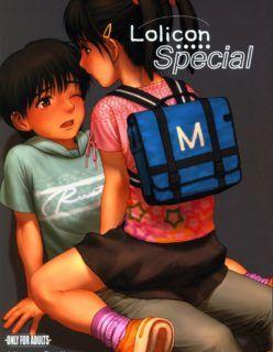 Lolicon Especial – Quadrinho Hentai de Lolicons
