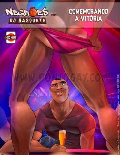 Negrões do Basquete – Comemorando a vitória