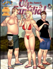 Oh Família – Quadrinhos Porno – HQ Adulto Part 5