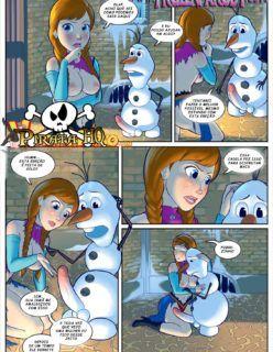 Sexo congelante 3 – Frozen sendo fodida com jeitinho