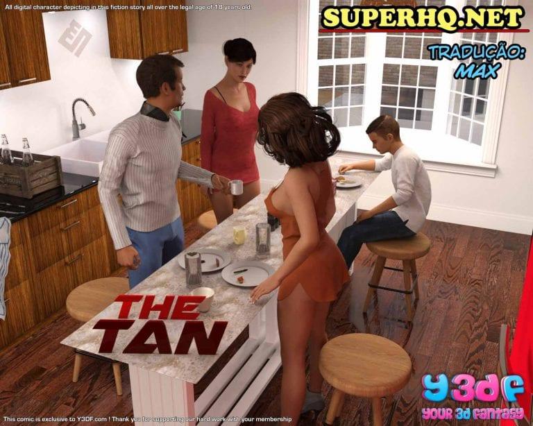 Y3DF Comix - The Tan - 1