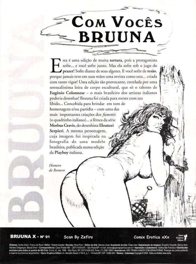 Bruuna X - Uma história cheia de porno