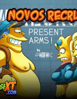 Os Simpsons Hentai em: As Novas Recrutas
