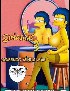 Os Simpsons Hentai em: Comendo minha mamãe