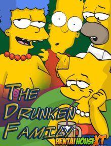Os Simpsons Hentai em: Sexo da família bêbada
