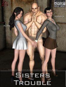 Irmãs em Apuros – Hentai 3D