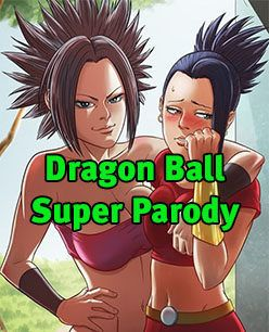 Dragon Ball Super Parody – Caulifla e Chi Chi lésbica