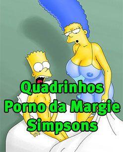 Quadrinhos Porno da Margie Simpsons
