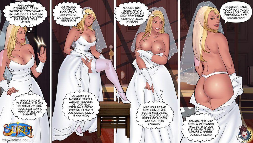 Contos Eroticos - A noite da noiva
