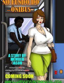 Estuprada no fundo do ônibus